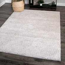 Orian Rugs Plush Shag Horton Check Grey Area Rug