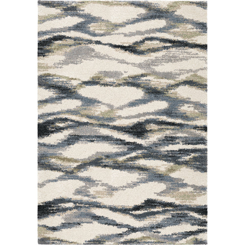 Orian Rugs Portland Seacliff Muted Blue Area Rug