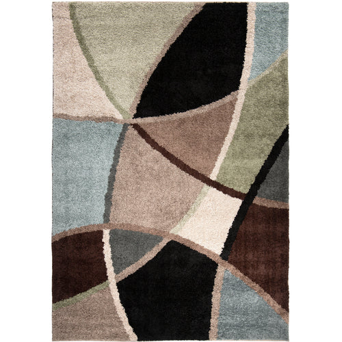 Orian Rugs Shag-Ri-La Collection Divulge Blue Area Rug