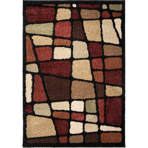 Orian Rugs Shag-Ri-La Collection Hopscotch Area Rug