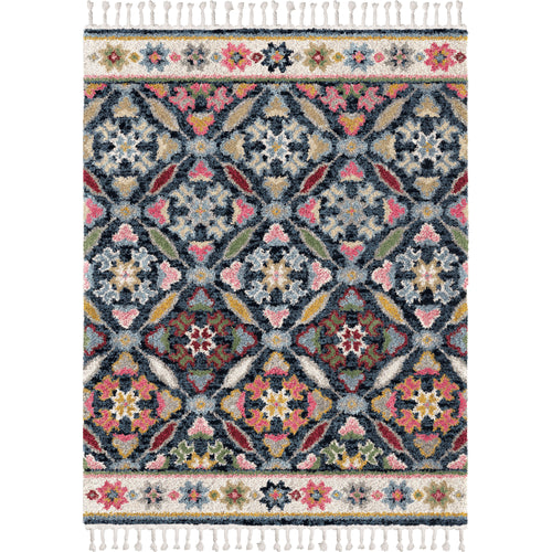 Orian Rugs Saffron Tarpon Springs Area Rug with Braided Fringe