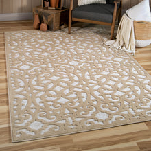 Orian Rugs Boucle Collection Seaborn Driftwood Area Rug