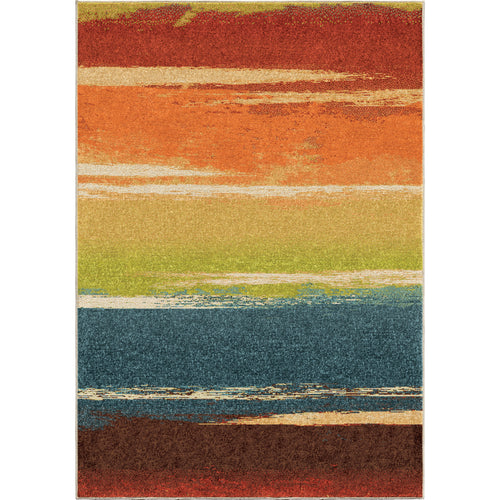 Orian Rugs Spoleto Collection Brushed Stripes Area Rug