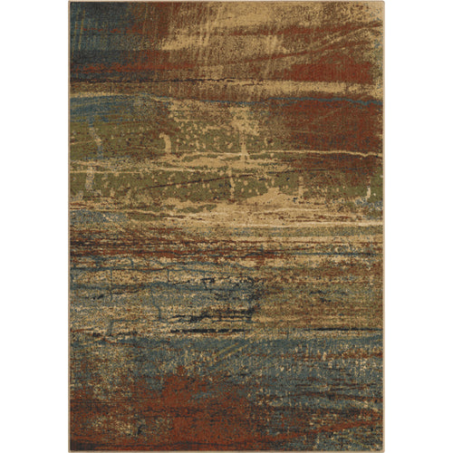 Orian Rugs Voyage Cabana Sunset Dark Multi Area Rug