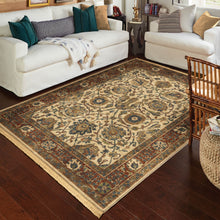 Orian Rugs Voyage Persian Varse Cream Area Rug with Fringe