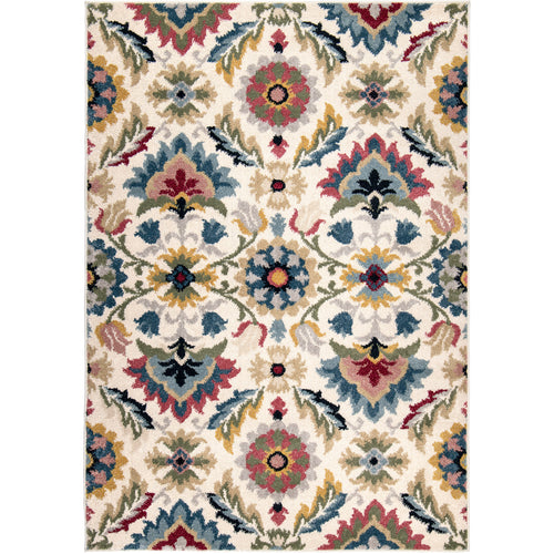 Orian West Village Majestic Palace Soft White Area Rug