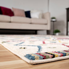 Orian West Village Settat Soft White Texture Area Rug