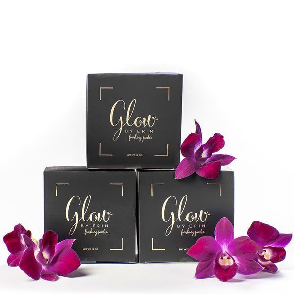 Glow By Erin Retail Jar (Pack of 3) - 1.5 oz. - Tropical Scent Shimmer