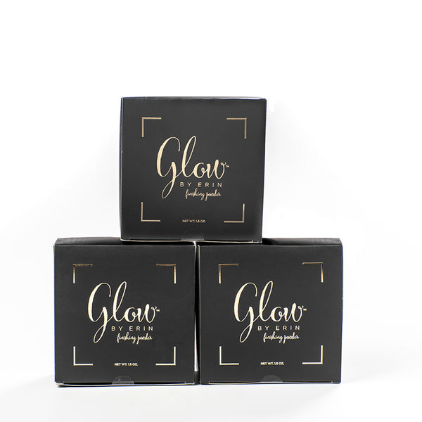 Glow By Erin Retail Jar (Pack of 3)  - 1.5 oz. - Original Scent Shimmer