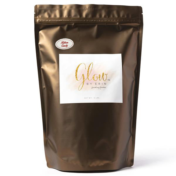 "Glow By Erin Finishing Powder - Ribbon Candy  ""Limited Release"" - Bulk 2 LB"