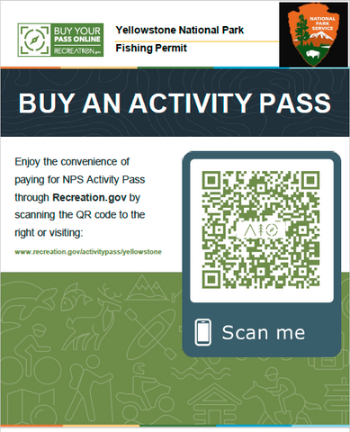 Yellowstone Park Fishing Licenses