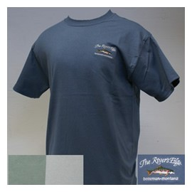 The River's Edge Trout Script T-Shirt