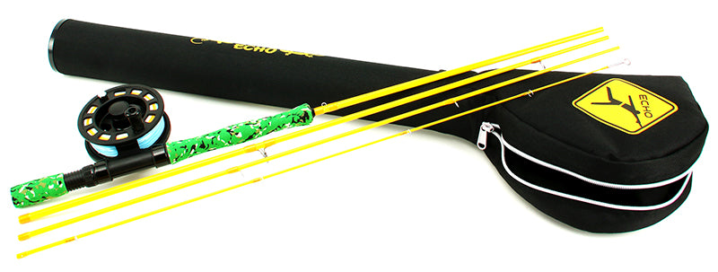 Echo Gecko Kids Rod and Reel Kit