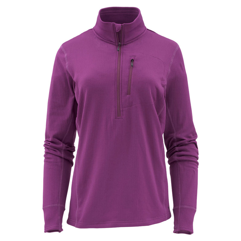 Simms Womens Fleece Midlayer Half-Zip