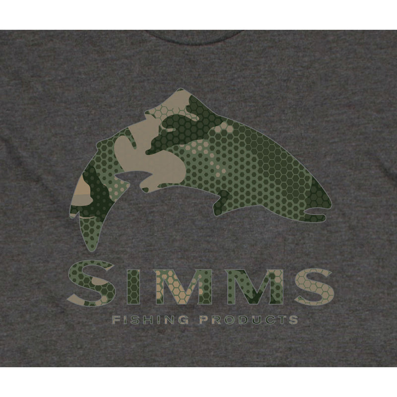 Simms Trout Hex Flow Camo T-Shirt