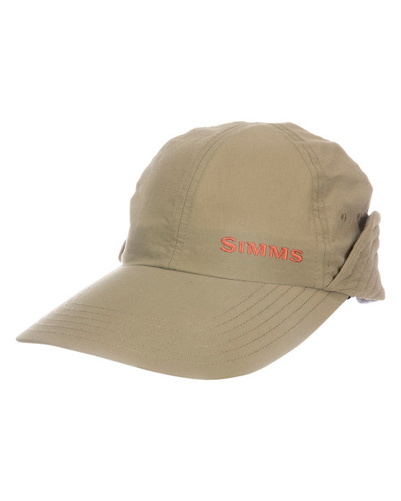 S21 Simms Gallatin Sunshield Cap Tan One Size