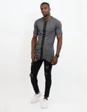KNIGHT CUT SHIRT ANTHRACITE