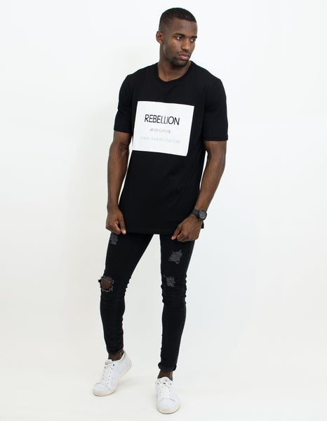 REBELLION SHIRT BLACK