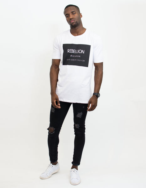 REBELLION SHIRT WHITE
