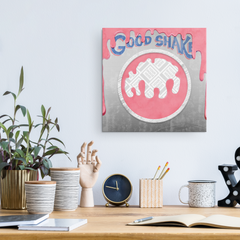 Get Stuck in the Good Shake Machine Canvas Wall Art
