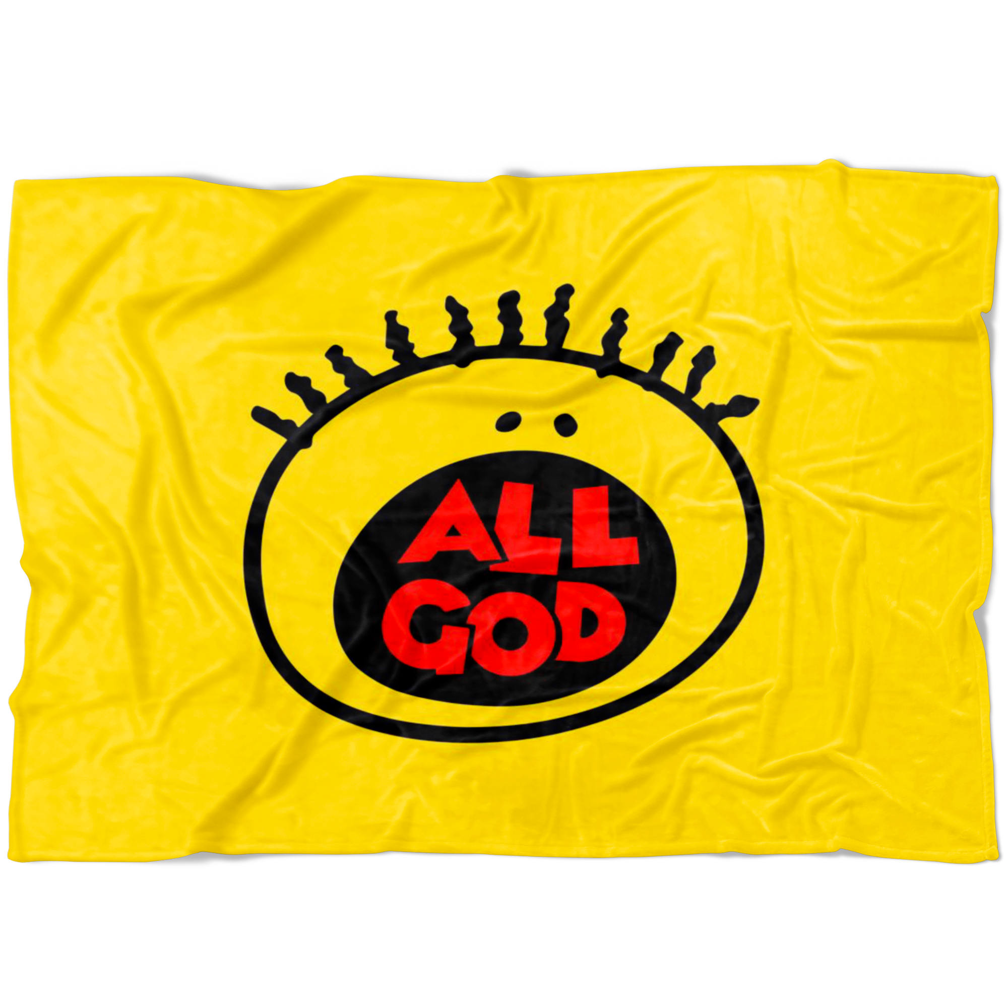 All God Fleece Blanket