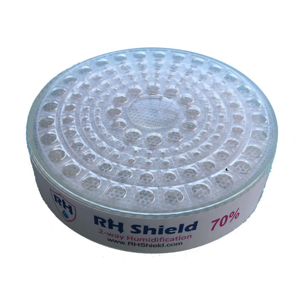 RH Shield Cigar Humidity Beads Round 70% Humidifier for 150 Cigars