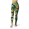 Leggings Tropical Pineapple Flowers