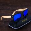 2017 Bamboo Retro Polarized Sunglasses Men Wooden Sun glasses Women Brand Designer Original Wood Glasses Oculos de sol masculino