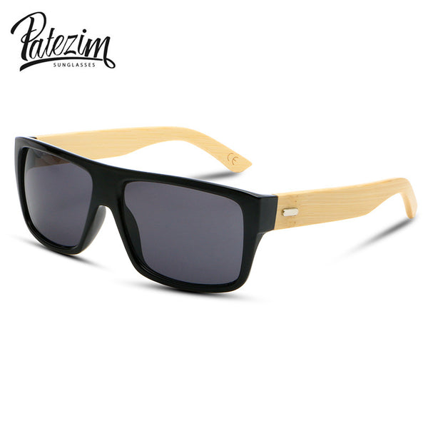 2017 New Bamboo Sunglasses Men Wooden Sun glasses Women Brand Designer Mirror Original Wood Glasses Oculos de sol masculino