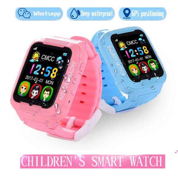 Feipuker Kids bluetooth K3 smart watch children GPS LBS AGPS watch support SIM TF card Voice intercom camera Wearable devices