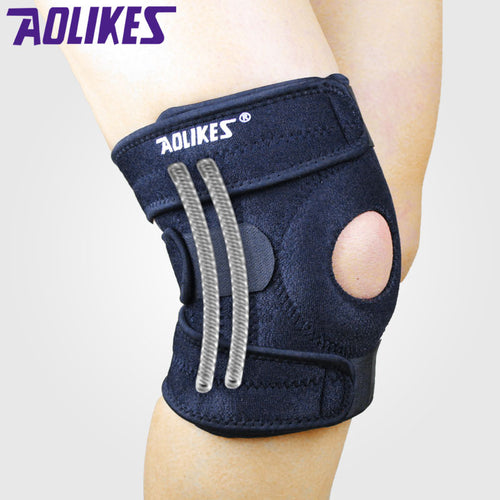 4 Spring Knee Brace- Best for injury and support