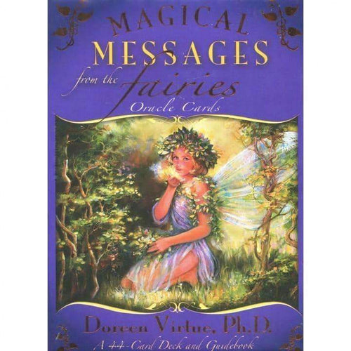 Magical Messages from the Fairies Oracle Cards by Doreen Virtue: Free Delivery - Baan 57