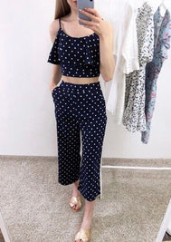 Polka Dot Two-Piece Set