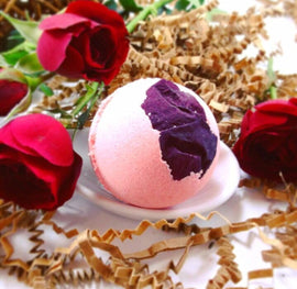 Rose Pedal Mini Bath Bombs