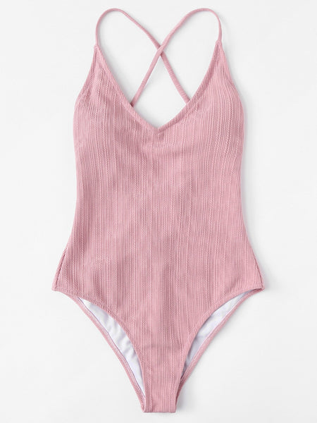 Blush One-Piece Swimmie