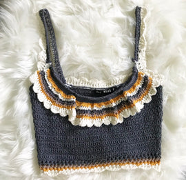 Spooky Crochet Crop Top