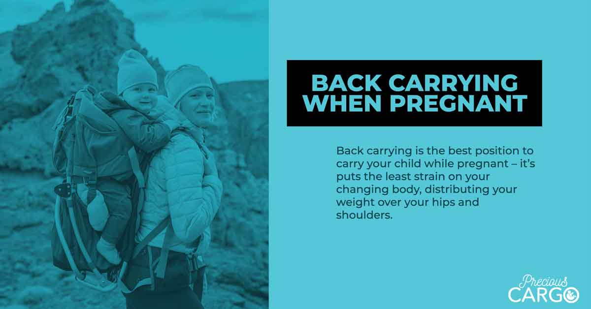Safe Back Carrying while Pregnant