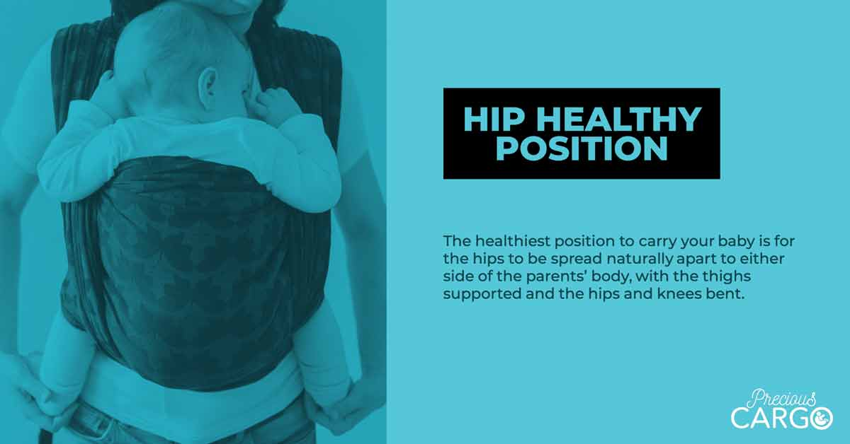 Best Carrying Position for babies Hips