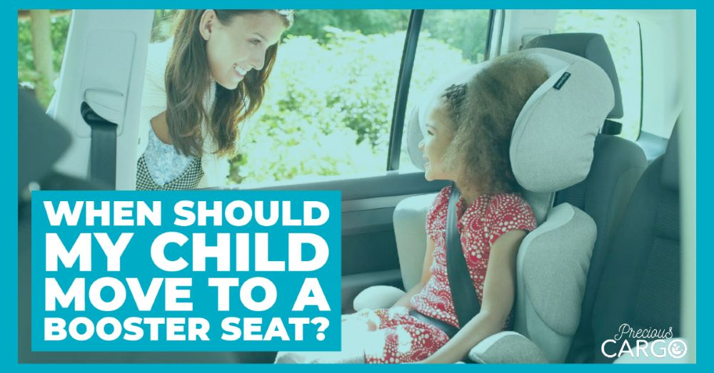 When should my child move to a booster seat