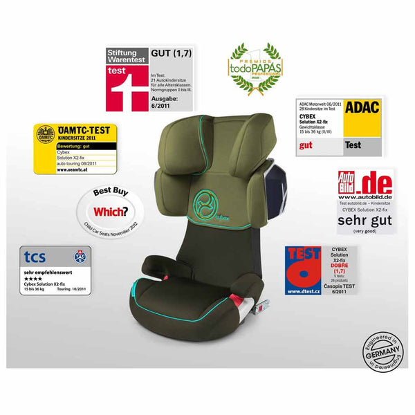 cybex solution X2fix adac safety rating