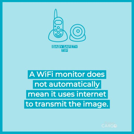 do wifi baby monitors use the internet