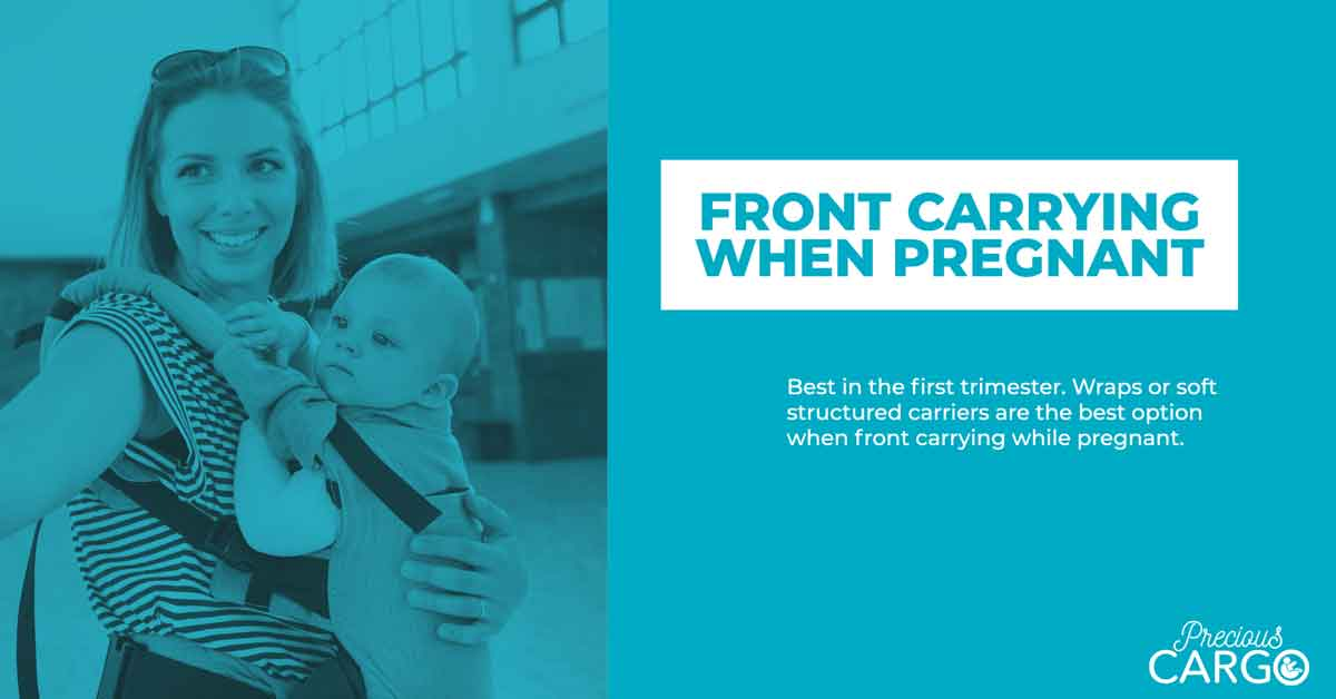 Safe front Carrying while pregnant
