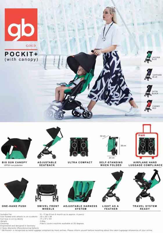 GB-Pocket-plus-Compact-Pram-for-travel