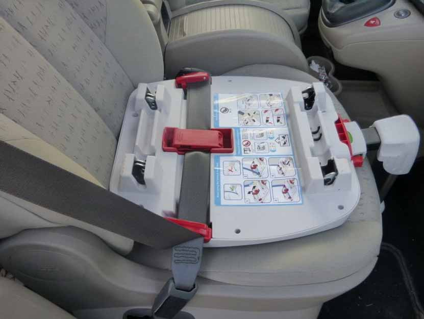 Hauck Varioguard Plus Seatbelt Installation