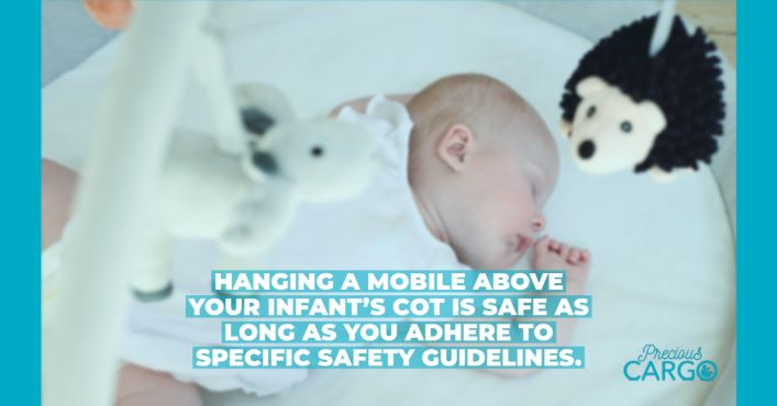IS IT SAFE TO USE A COT MOBILE