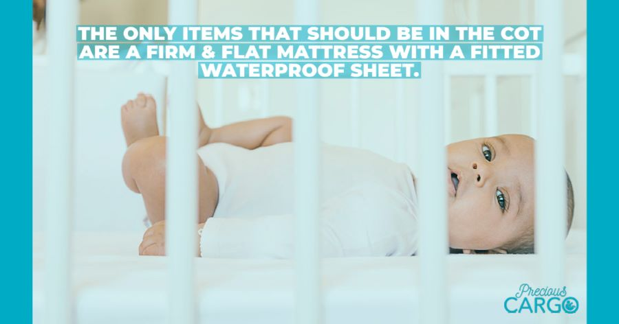 what should be in a cot