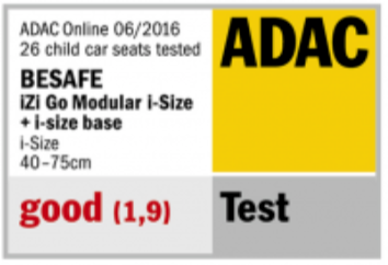 besafe izi go modular adac safety rating