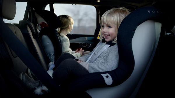 Complete Volvo Maxway Child Car Seat review