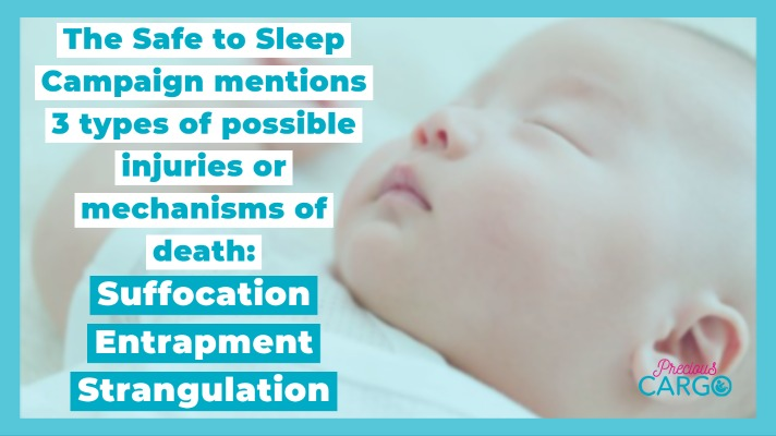suffocation, strangulation, and entrapment cause of SIDS