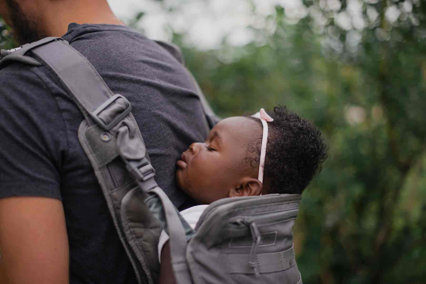is it safe for baby to sleep in baby carrier
